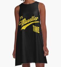 es & amp; s Mueller Zeit - GOLD A-Linien Kleid
