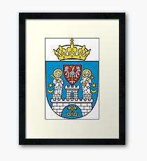 Poznan Coat Of Arms Framed Print