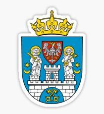 Poznan Coat Of Arms Sticker