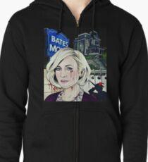 Norma Bates  Zipped Hoodie