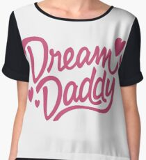 Dream Daddy Women's Chiffon Top