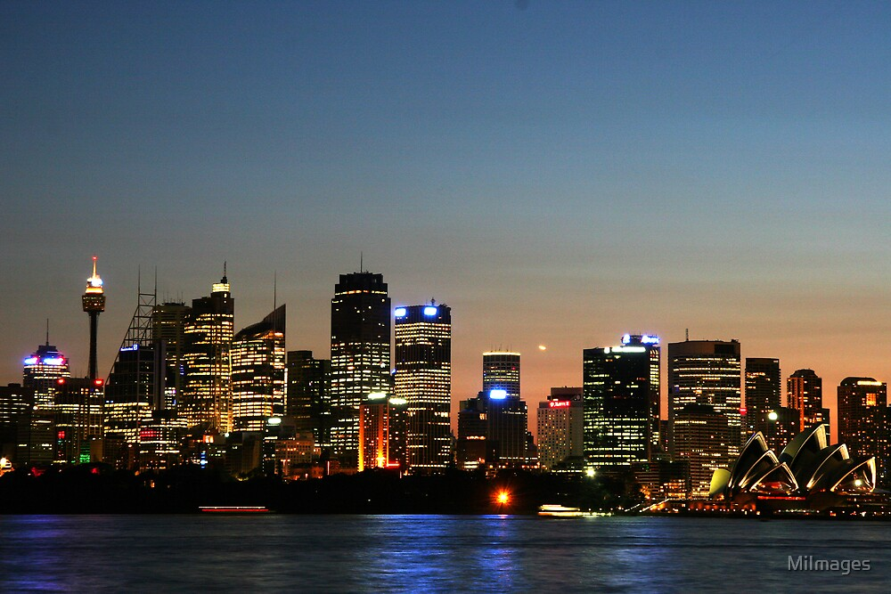Sydney Sunset 1492 by MiImages