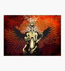Angelic Sin Photographic Print