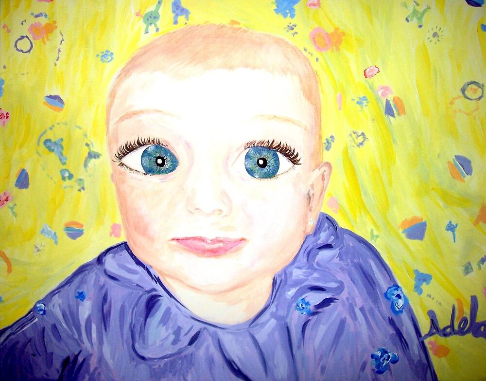"""""""Baby Face"""" by Adela bellflower"""