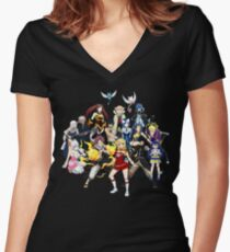 The whole gang Women's Fitted V-Neck T-Shirt