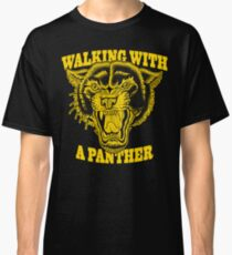 Walking with a panther tattoo design Classic T-Shirt