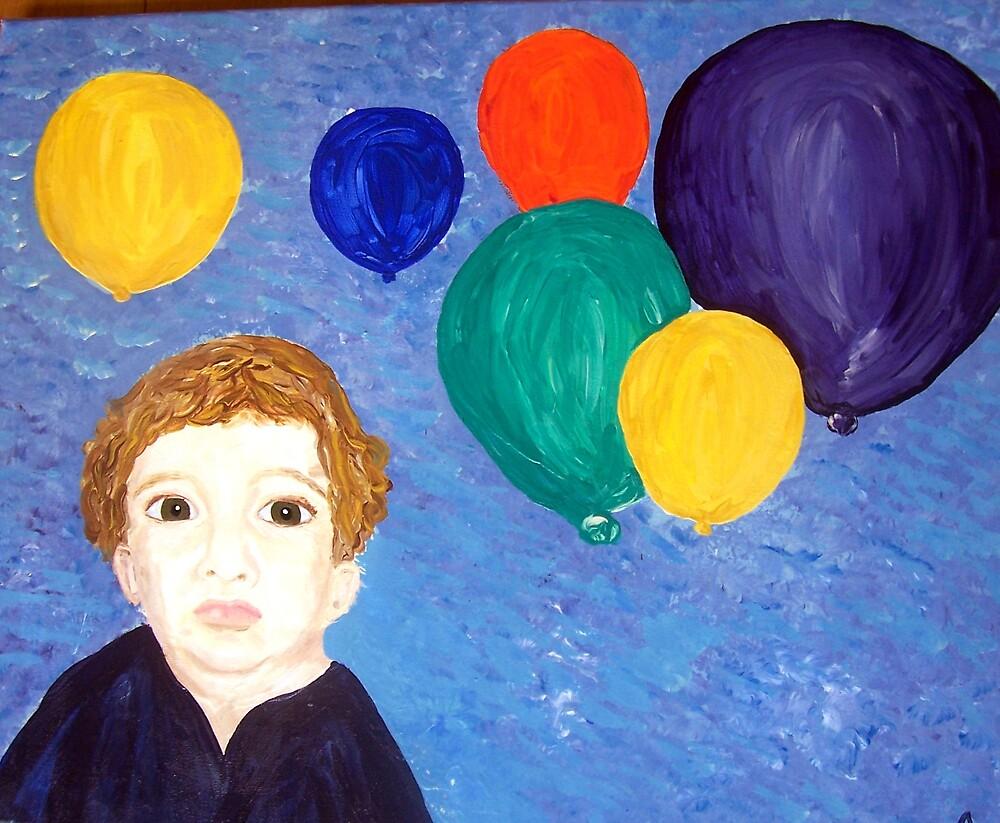 """""""Balloons!"""" by Adela bellflower"""