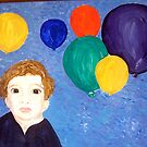 """""""Balloons!"""" by Adela Camille Sutton"""