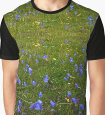 A sea of Harebells, Rossbeg, Co Donegal Graphic T-Shirt