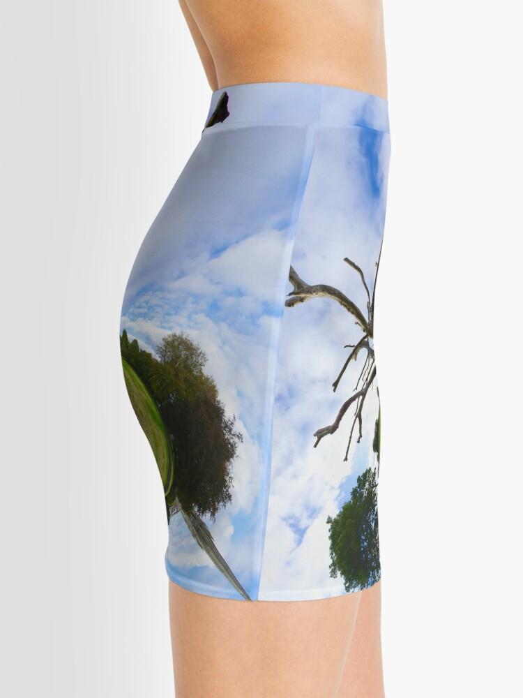 Alternate view of Dead Elm Tree in Brooke Park, Derry Mini Skirt