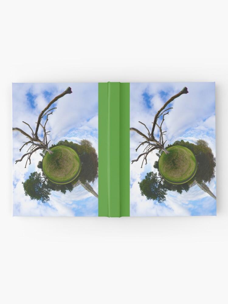 Alternate view of Dead Elm Tree in Brooke Park, Derry Hardcover Journal