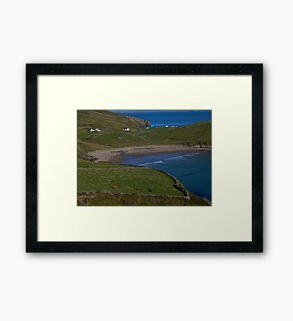 Traloar Beach, Muckross Head, Donegal Framed Print