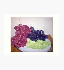 """Grape Trio"" Art Print"