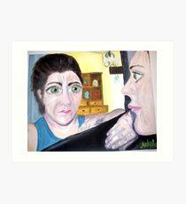 """Broken Reflection"" Art Print"