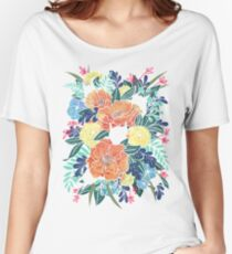 Wild Flowers Women's Relaxed Fit T-Shirt