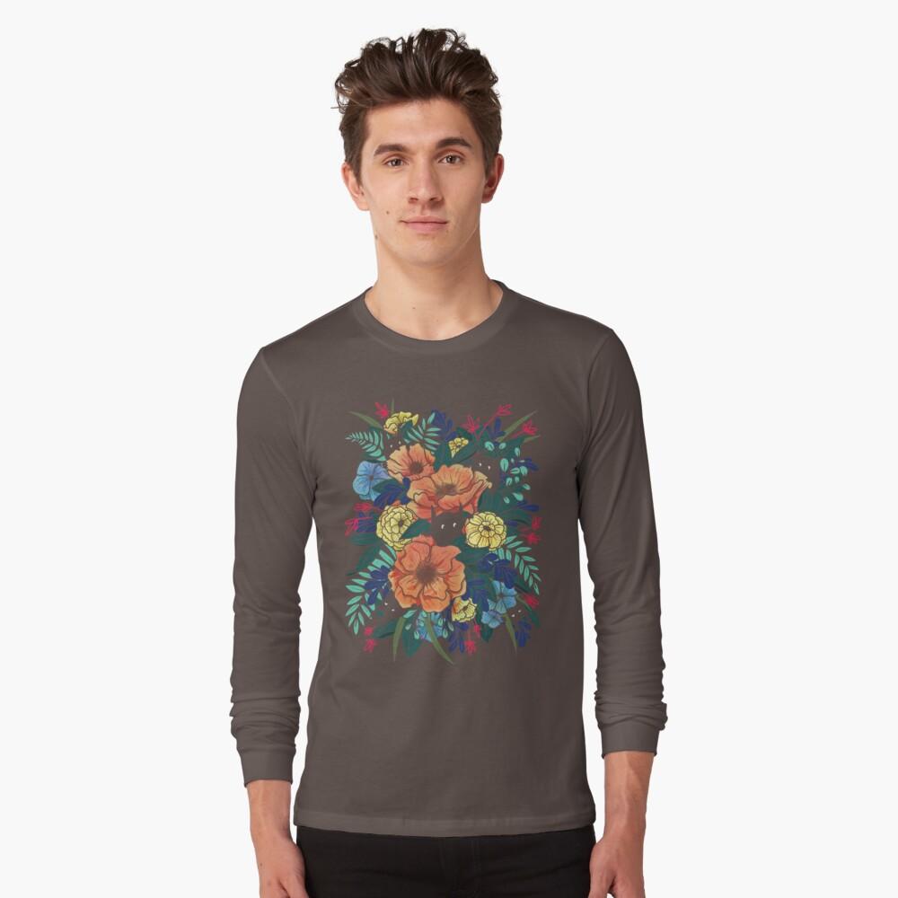 Wilde Blumen Langarmshirt