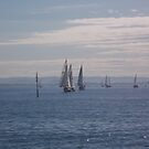 Rounding the Mark by sailgirl