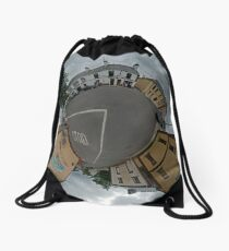 Carrick Crossroads, Donegal - Sky Out Drawstring Bag
