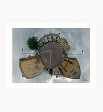Carrick Crossroads, Donegal - Sky Out Art Print
