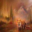 Wise Fox by SimonHaiduk