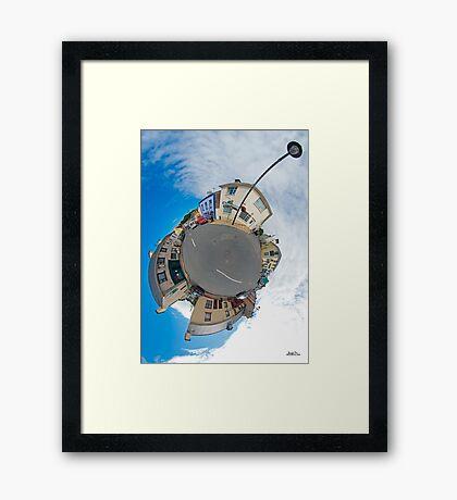 Kilcar Main Street - Sky Out Framed Print
