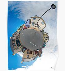 Kilcar Main Street - Sky Out Poster