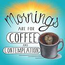 Mornings by Nikki Harrje