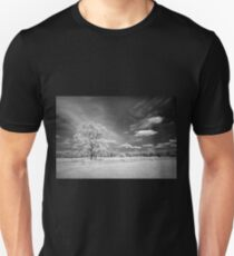 Tree on Cherry Hill - Infrared T-Shirt
