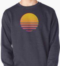 Outrun Retro Sonne Pullover