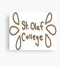 St. Olaf College Canvas Print