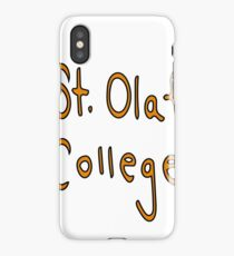 St. Olaf College iPhone Case