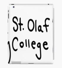 St. Olaf College iPad Case/Skin