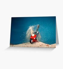Hooning on the dunes Greeting Card
