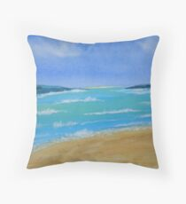 Tidal Estuary Throw Pillow