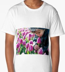Tulip Adoration Long T-Shirt