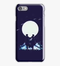 Eren and Levi by the moon iPhone Case/Skin
