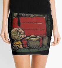 Charlie Brown t shirt Mini Skirt
