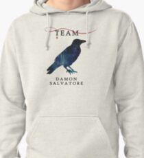 Team Damon Salvatore - The Originals  - The Vampire Diaries Pullover Hoodie