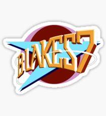 Blakes 7 Logo Sticker