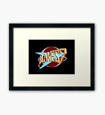 Blakes 7 Logo Framed Print