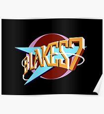Blakes 7 Logo Poster