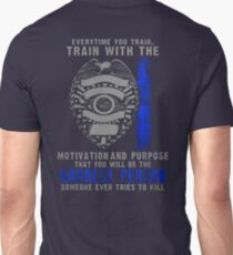 Best Police Gift – MOTIVATION AND PURPOSE T-Shirt