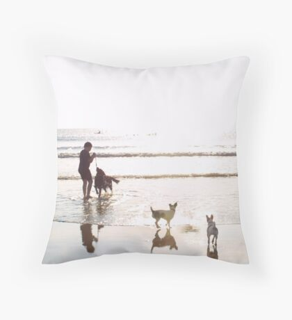 Can we join in? Throw Pillow