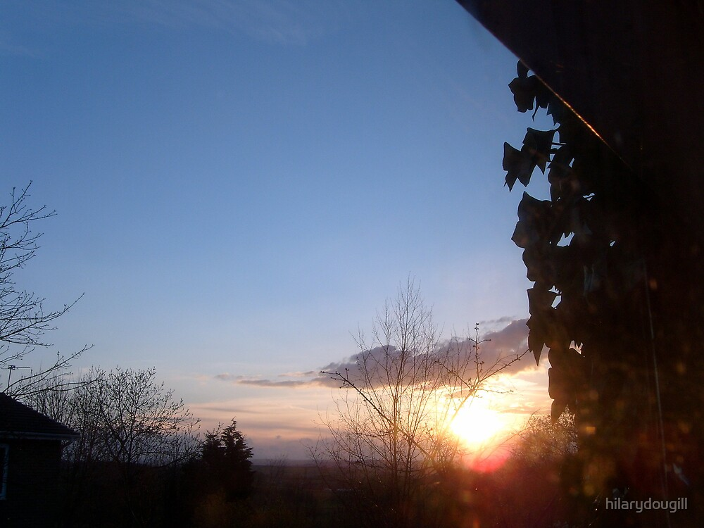 Sunset 28th April  by hilarydougill
