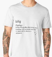 kilig (Tagalog) statement tees & accessories Men's Premium T-Shirt