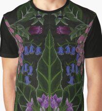 The Poison Garden - Mandrake and Foxglove Graphic T-Shirt