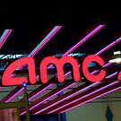 AMC in Neon. by Billlee