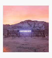 Arcade Fire - Everything Now Album Cover Photographic Print