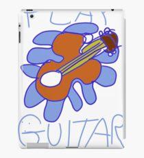 Play Guitar Play iPad Case/Skin