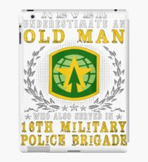 Best Police Gift – 16th Military Police Brigade iPad Case/Skin